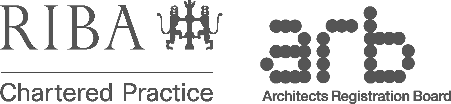RIBA and ARB logos